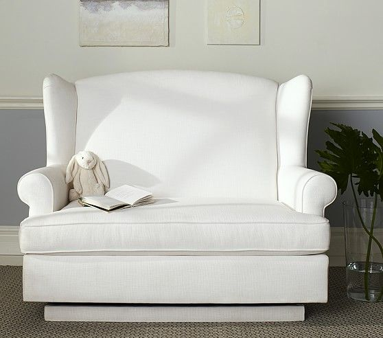 Wingback Gliding Settee Baby