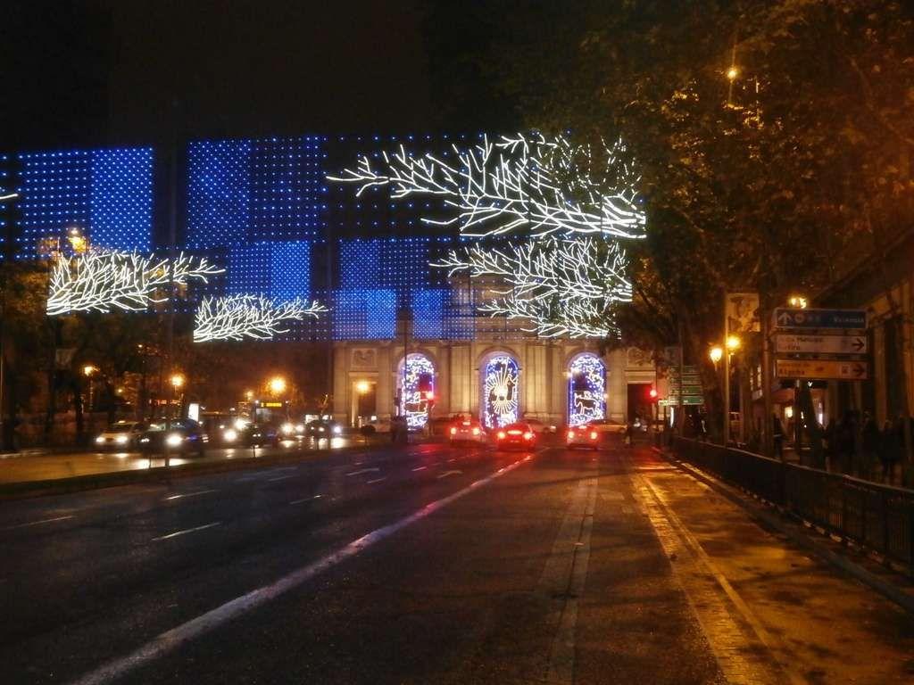Iluminación de Madrid