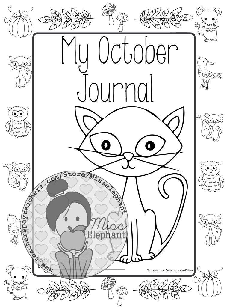 Kindergarten / First Grade Writing Prompts (October