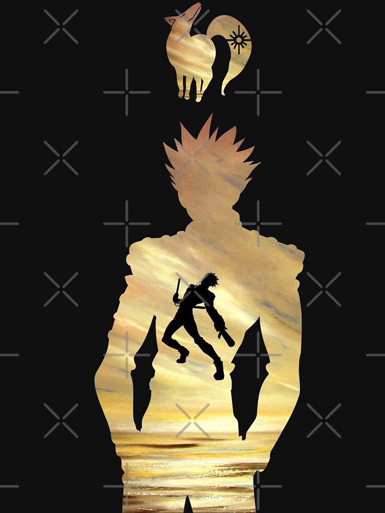 Ban The Fox Sin Seven Deadly Sins Essential T Shirt By Blason In 2021 Cool Anime Backgrounds Seven Deadly Sins Anime Anime Wallpaper
