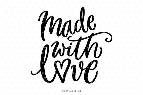 Download Made with love, Love svg, Nursery svg file, Baby svg ...