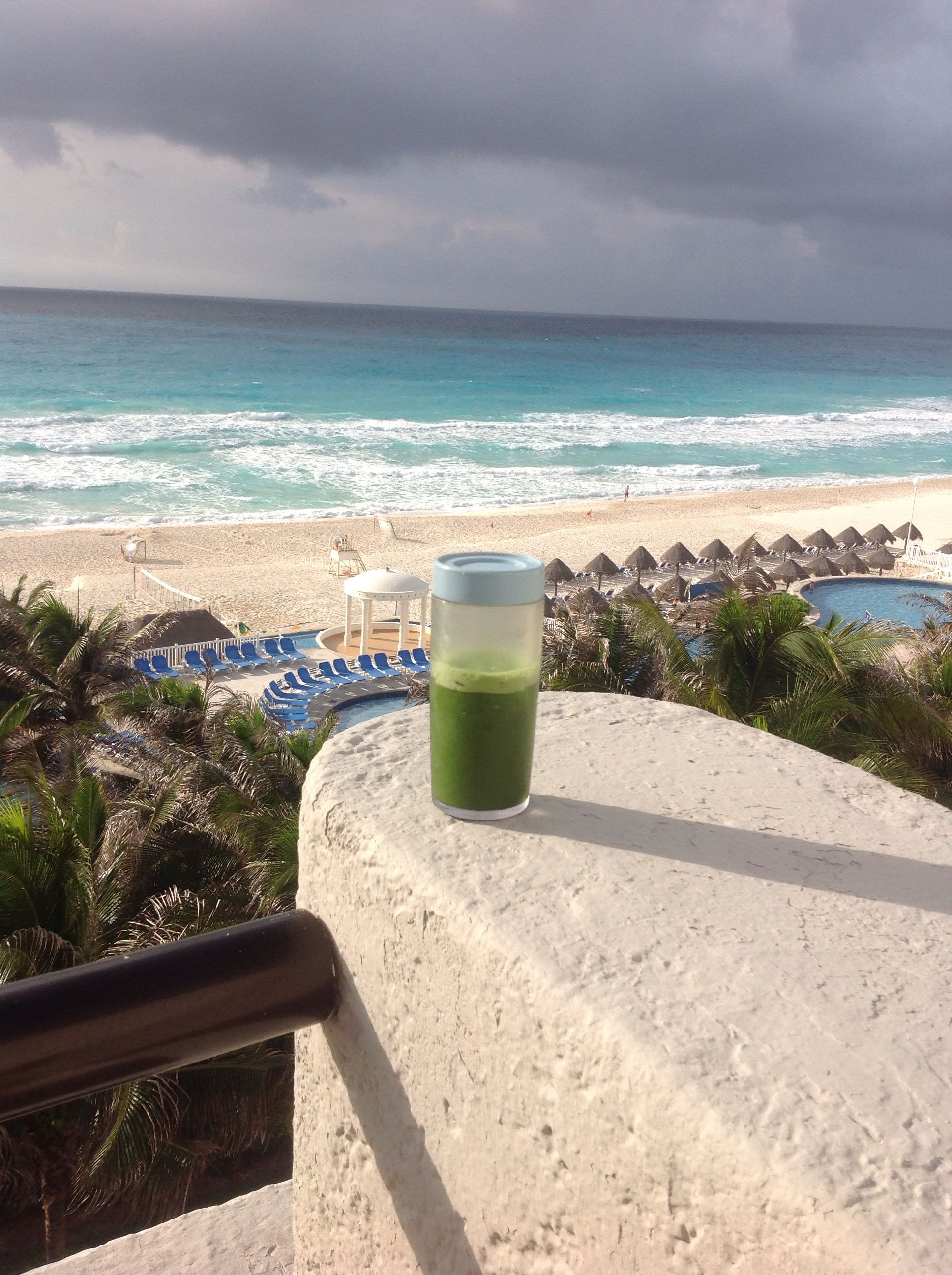 """I call this picture """"Matcha in paradise"""". This is my daily"""