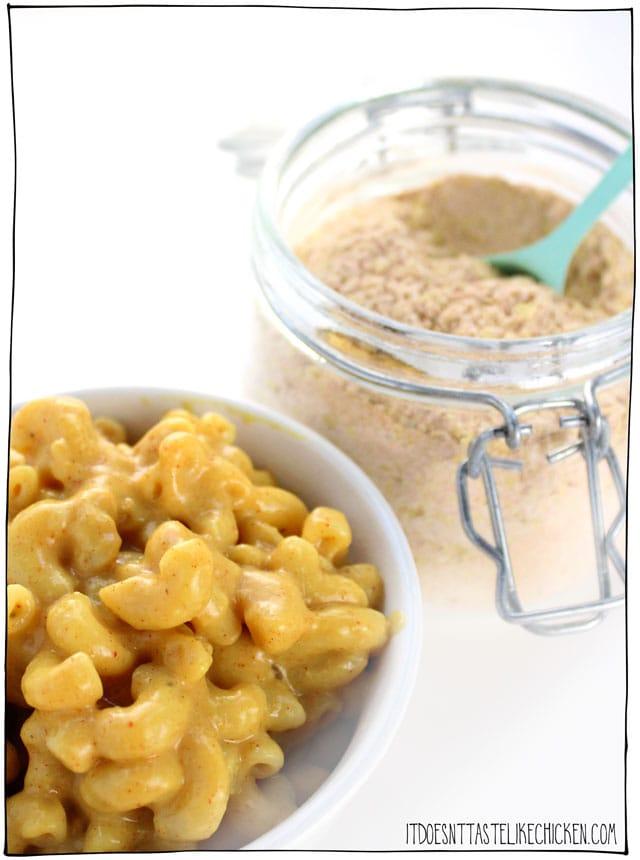 Homemade Vegan Mac Cheese Powder Recipe In 2020 Vegan Kids Recipes Vegan Mac And Cheese Mac And Cheese