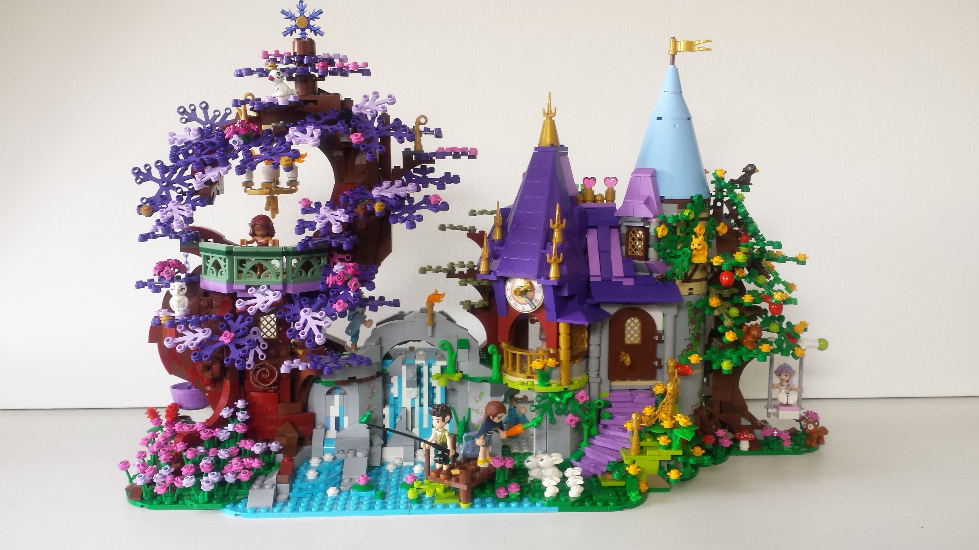 Custom Build Using Primarily A Mixture Of Lego Elves