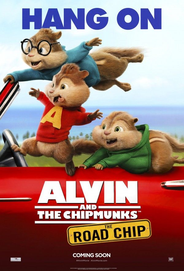 Alvin And The Chipmunks The Road Chip Movie Trailer Alvin And The Chipmunks Chipmunks Movie Kid Movies