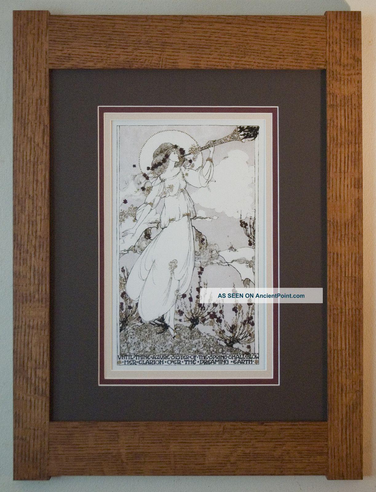 Arts and crafts prints - Arts And Crafts Prints Arts And Crafts Style Prints Mission Style Quartersawn Oak Arts Crafts