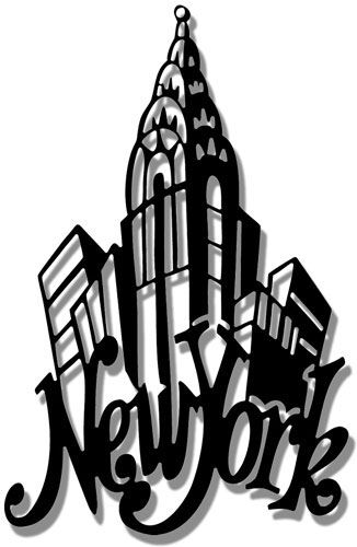 new york city silhouette clip clipart panda free clipart images rh pinterest com new york city clip art times square new york city outline clipart