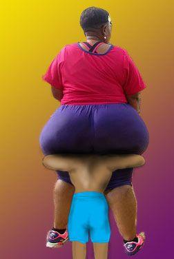 Bbw squashing women
