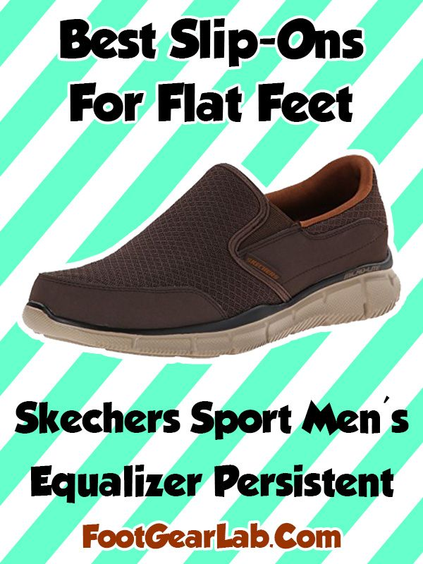 805ff6fc4cd Skechers Sport Men s Equalizer Persistent - Best Slip-Ons For Flat Feet Men  -  footgearlab