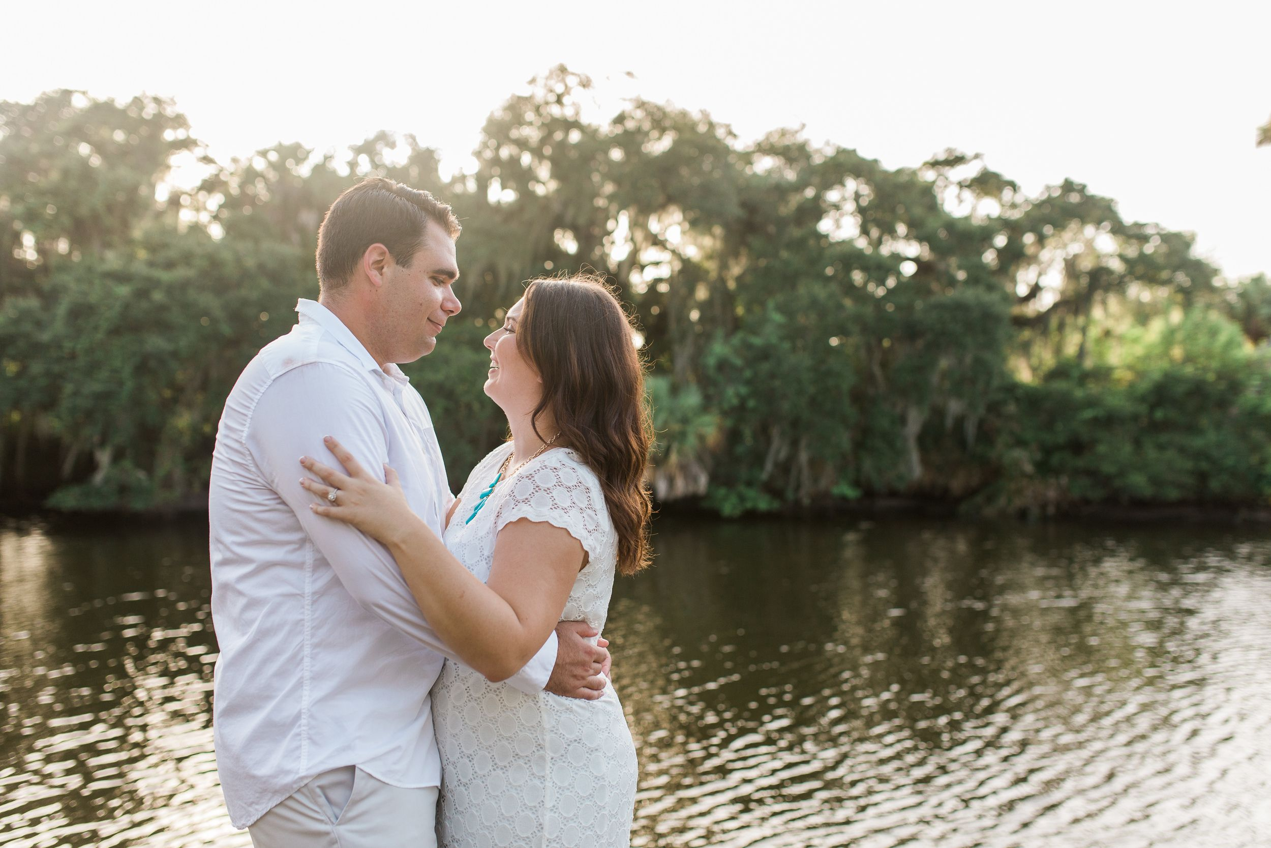 Old Florida Engagement Photos: Brittany + Chris