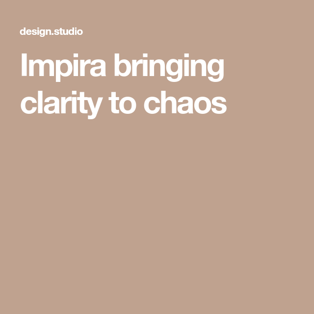 Impira Bringing Clarity To Chaos Em 2020