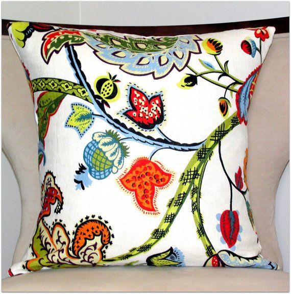 Decorative pillowWilmington Multicolor by ModernTouchDesigns, $30.00