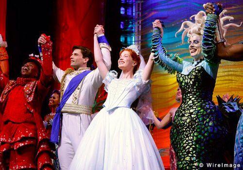 Curtain Call Original Broadway Cast The Little Mermaid Musical Little Mermaid Broadway The Little Mermaid