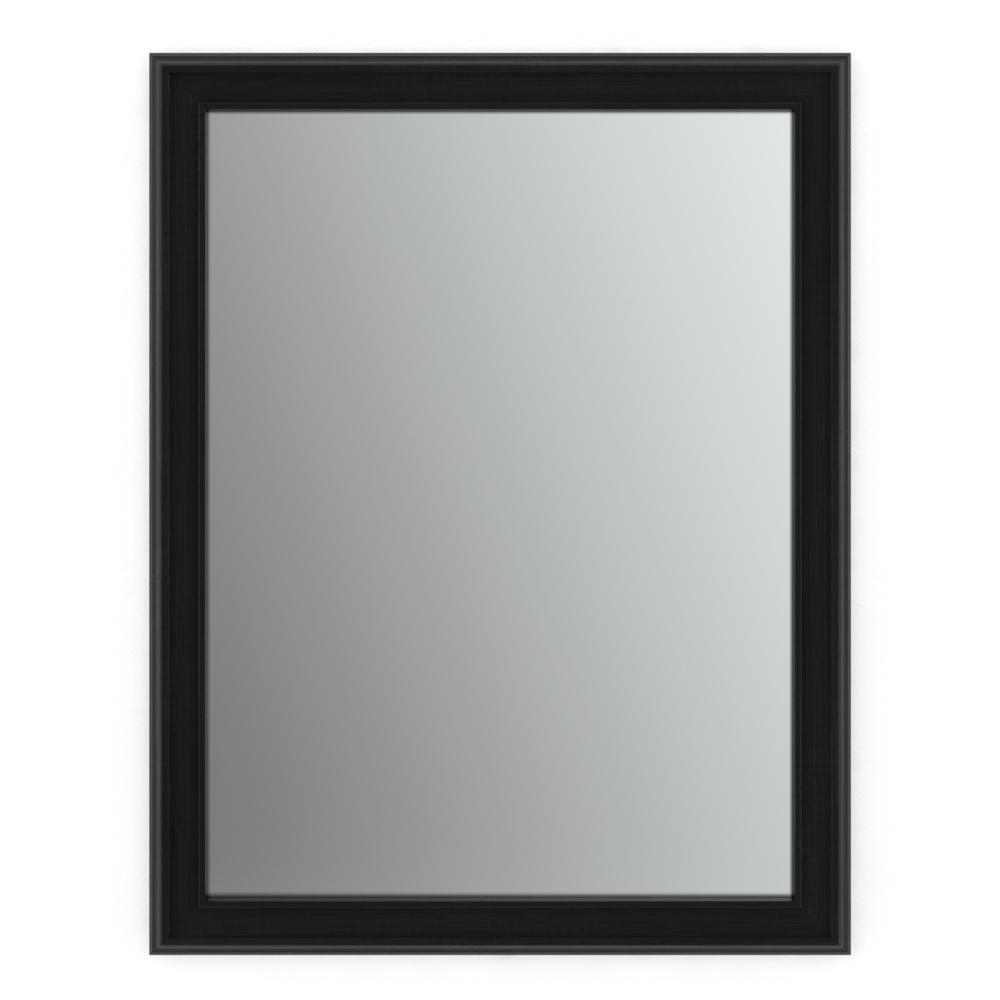 Delta 21 in x 28 in s1 rectangular framed mirror with