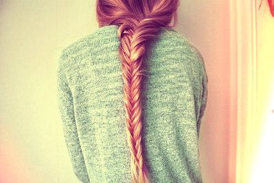 tumblr hair   Tumblr fishtail
