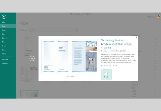 Microsofts Best Free Templates For Publisher Microsoft Publisher