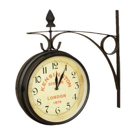 Home Large Clock Clock Metal Hangers