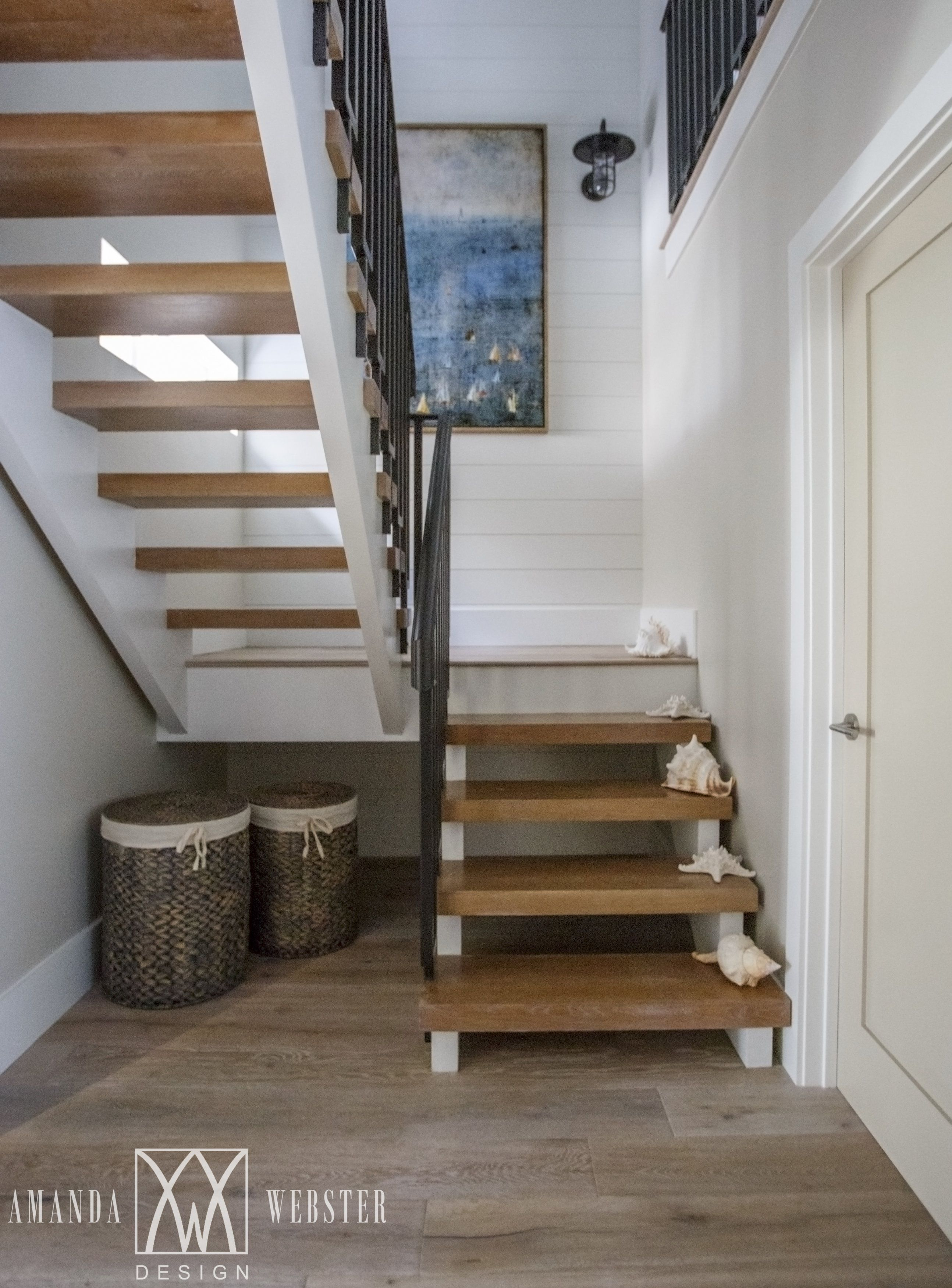 21 Bold Open Tread Staircase Designs