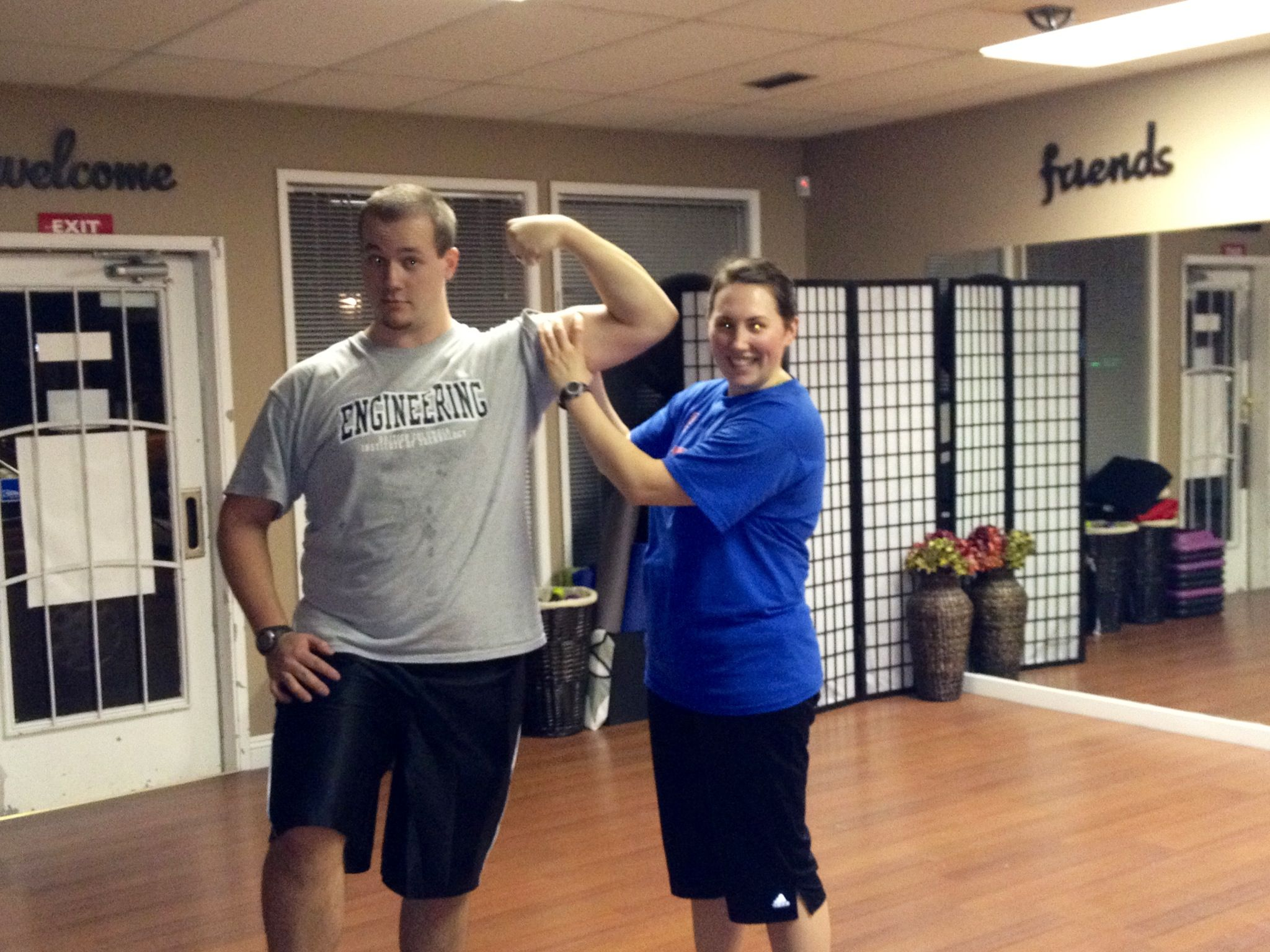 Couples Personal Training Available At Just For You Wellness Studio
