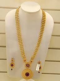 Image result for latest gold long necklace designs #GoldJewellerySouthindian