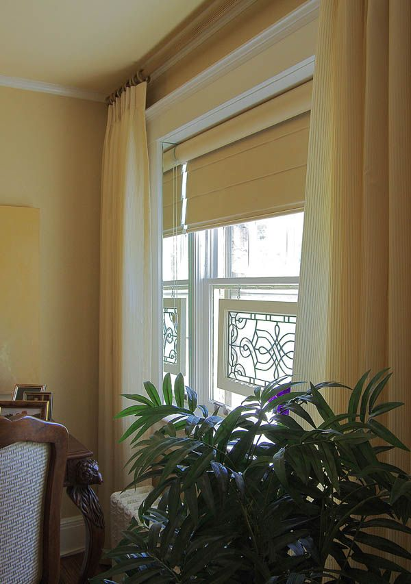 Special Window Treatment,#Hunter Douglas Pirouettes,#Kathy Barnard's on