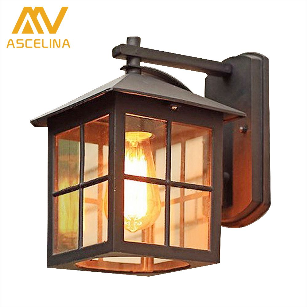 European Style Of The Ancient Wall Outdoor Lamp Waterproof Outdoor