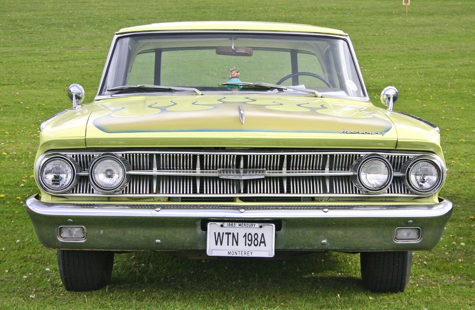 1963 - Mercury Monterey 4-door Hardtop | Mercury, Mercury ...