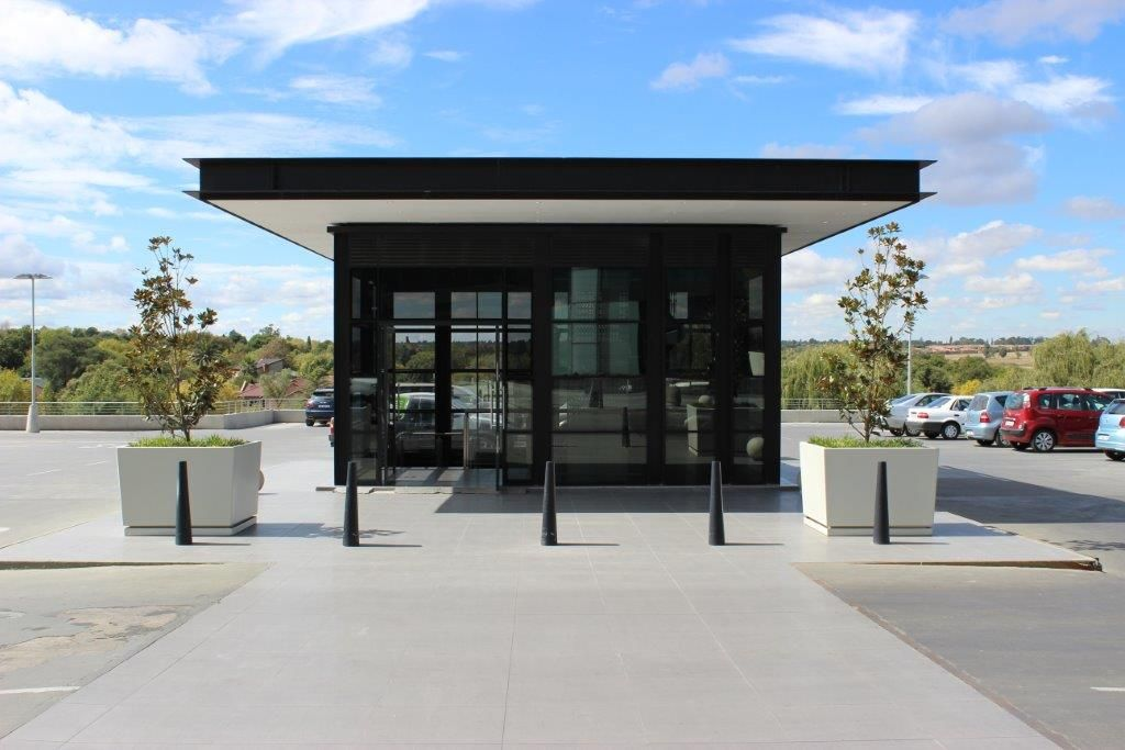 Bollard Options In Soot Seen Here Are Examples From Secunda