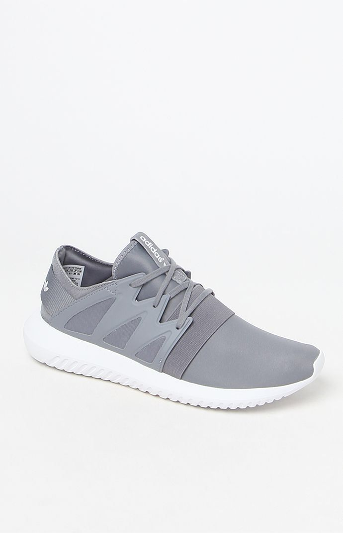 Hooked on Tubular Viral Neoprene Gray Low-Top Sneakers that I found on the  PacSun App 85fa03d99