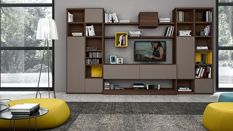 10 Latest Showcase Designs For Drawing Room With Pictures Living Room Storage Solutions Living Room Shelves Living Room Designs