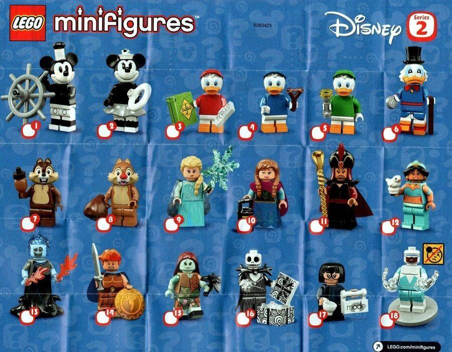 LEGO Disney Series 2 Minifigures VINTAGE MINNIE /& MICKEY MOUSE SEALED 71024