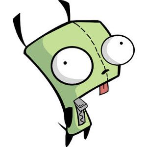 Img Thing 300 300 Invader Zim Gir From Invader Zim Aliens Funny