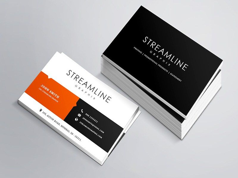 Free Glassy Business Card Template Business Card Template Cards Templates