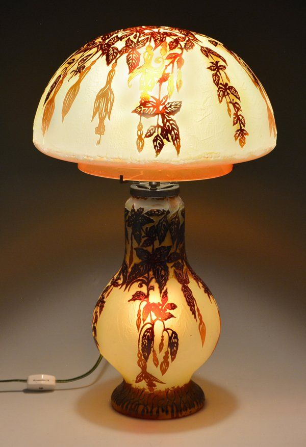 Exceptional Glass Mushrooms, Lamp Design, Lamp Shades, Chinese Antiques, Antique  Auctions, Art Furniture, Table Lamps, Chandeliers, Lampshades Images
