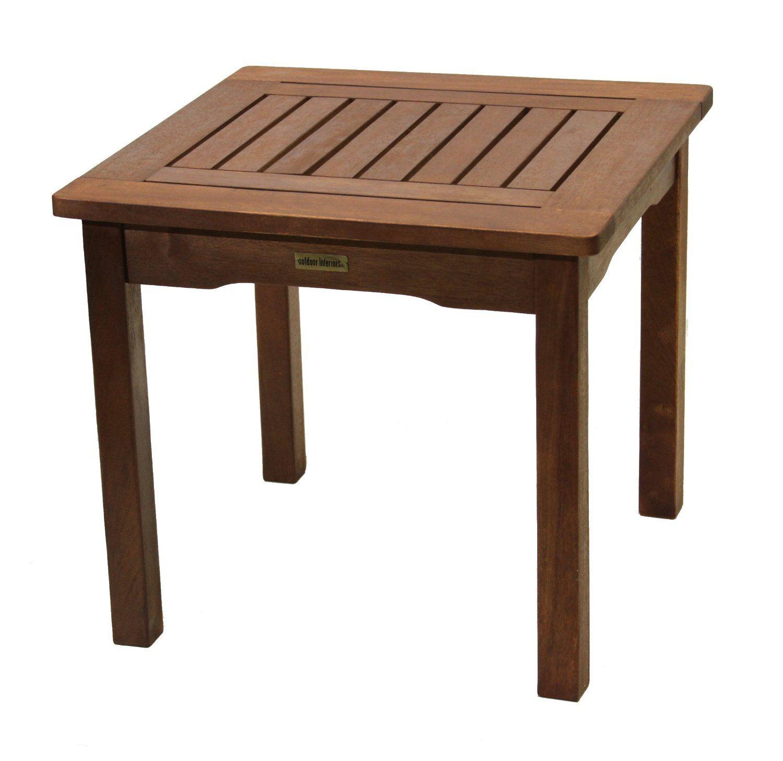 Elegant Amazon.com : Outdoor Interiors 19470 Eucalyptus End Table : Patio Side  Tables : Patio