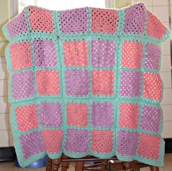 Custom Baby Blanket by CrabappleCrochet on Etsy, $40.00