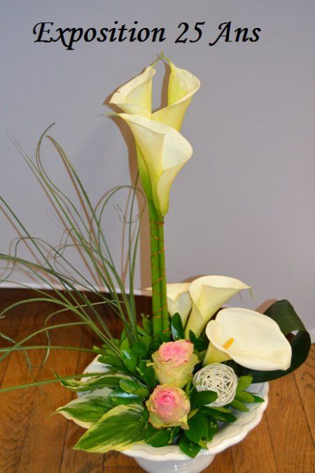 Orchidee35 pinterest compositions florales - Comment faire composition florale avec mousse ...