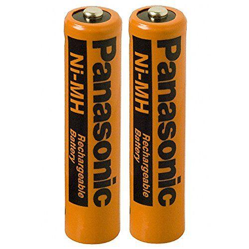 2 Pack Panasonic Nimh Aaa Rechargeable Battery For Cordless Phones 2 Batteries Panasonic Aaa Nimh Batteries Will Cordless Phone Rechargeable Batteries Nimh