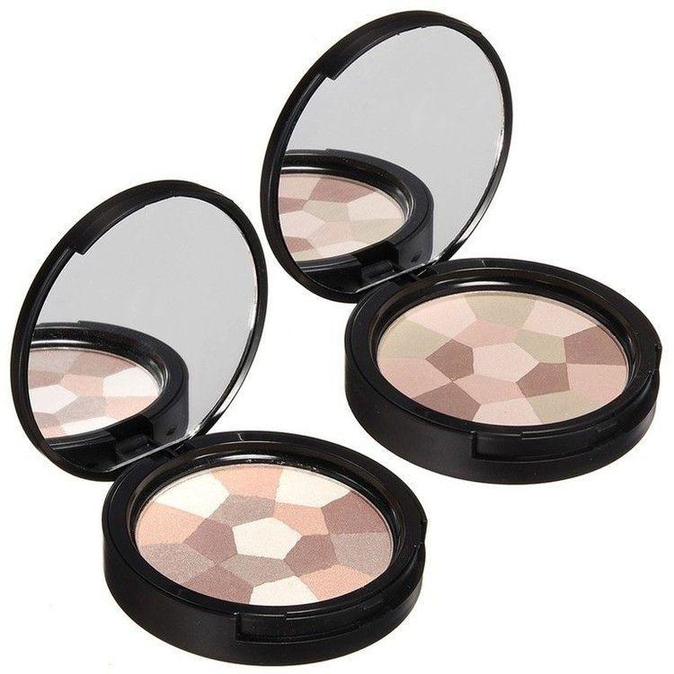 NATURAL Mixed Color Makeup Pressed Trimming Powder Foun