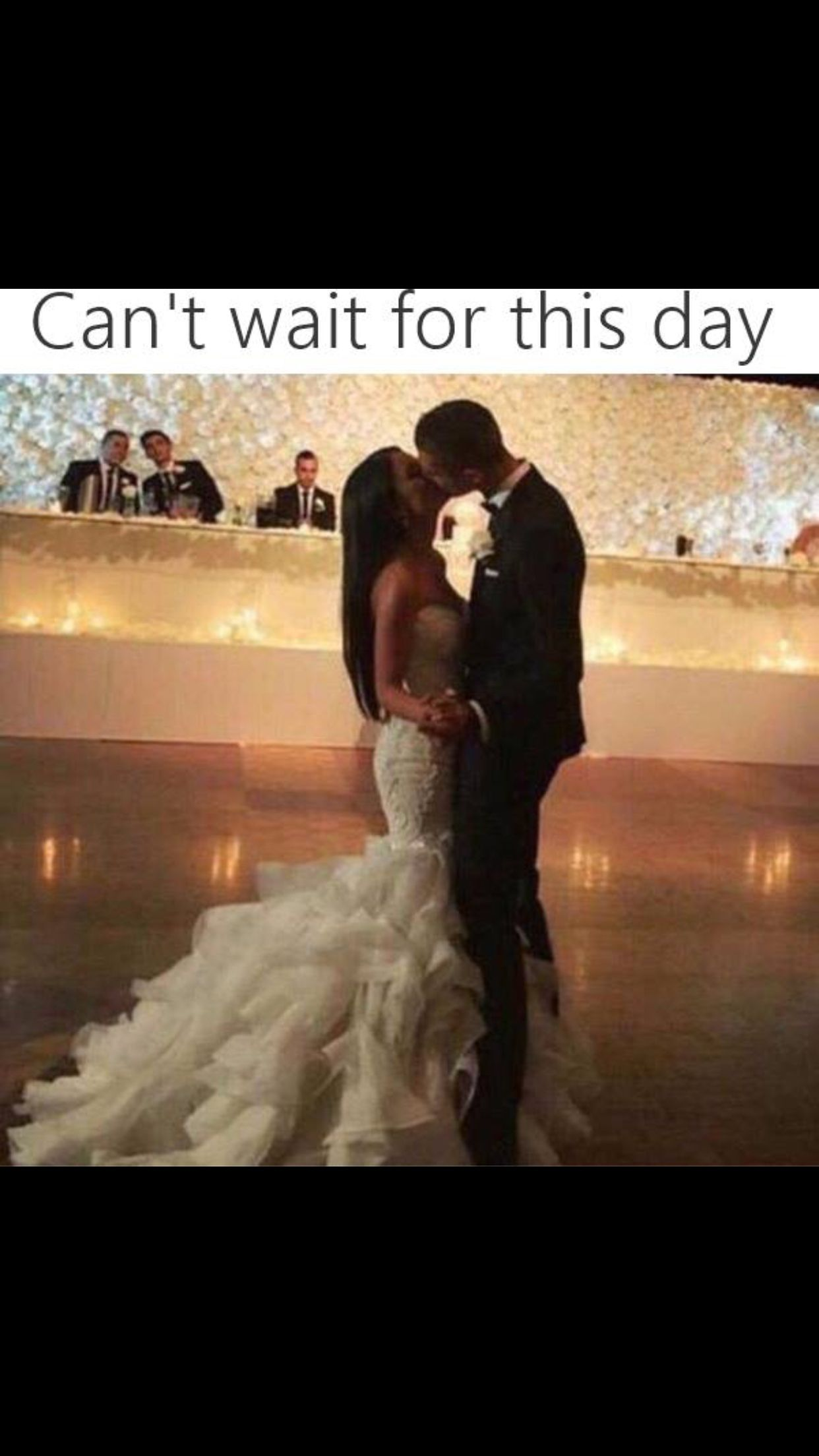 The first dance will be everything!