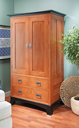 Cherry Armoire | Woodsmith Plans