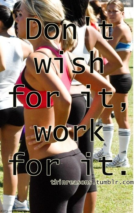 Work for it. That's right!!!