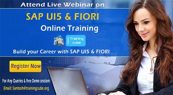 Fiori Online.Trainingcube Online Training Institute Providing Online Sap Ui5