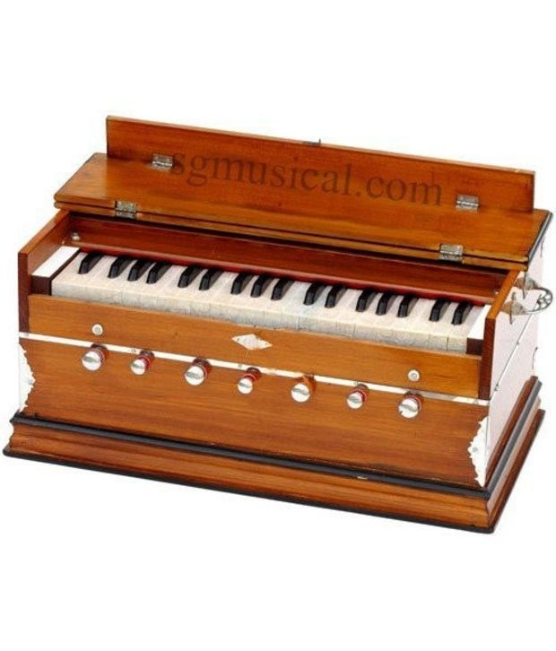 Harmonium 3.25 octave- 7 Stopper - 39 Keys- Double Fold Bellow