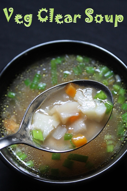 YUMMY TUMMY: Vegetable Clear Soup Recipe / Veg Clear Soup Recipe