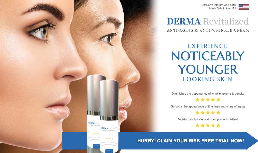 Derma Revitalized Reviews : Derma Revitalized Working & Effects | Anti  aging lotion, Improve skin health, Aging signs