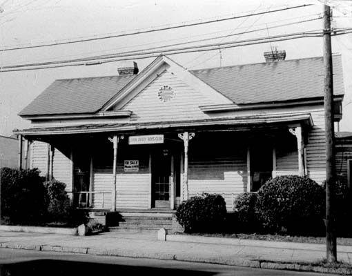 First James E Shepard House Ywca Fayetteville St John Avery