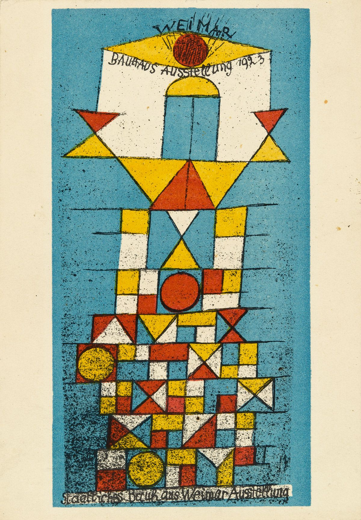 "MoMA | Century of the Child  Paul Klee  ""The Sublime Side""  Lithograph"