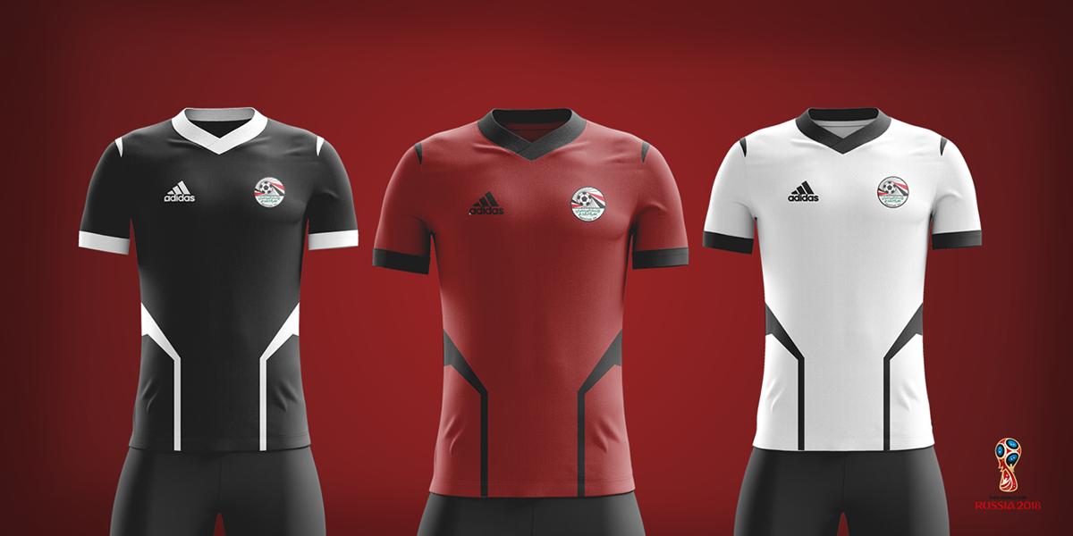 Egypt Football Kit 2018