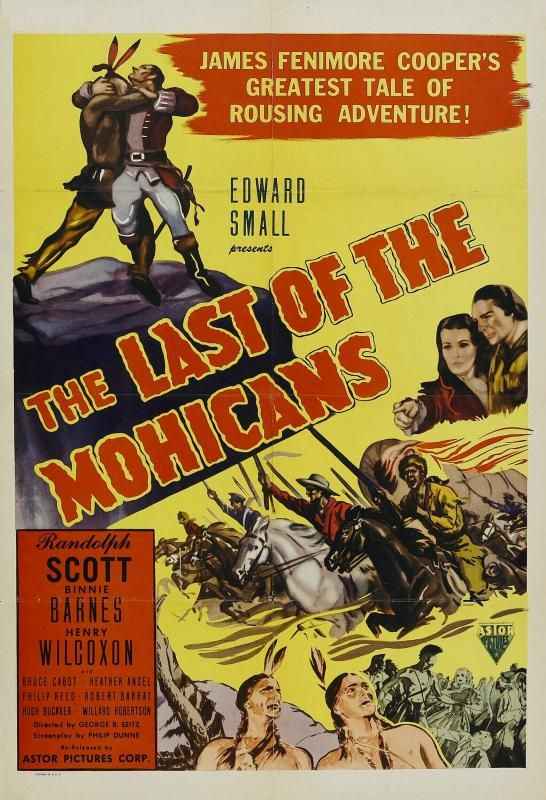 The Last of the Mohicans 1936 - George B. Seitz | Music book, John ...